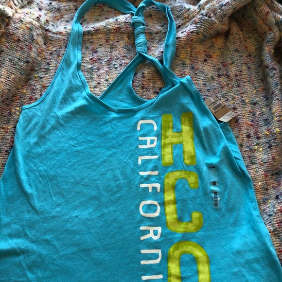 HOLLISTER tank new with tags